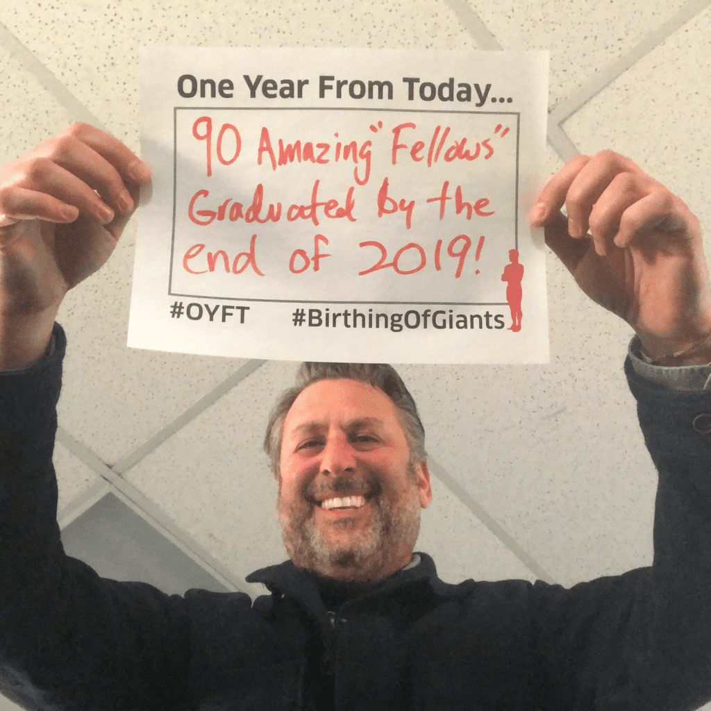 Lewis Schiff shares his One Year From Today for 2019.