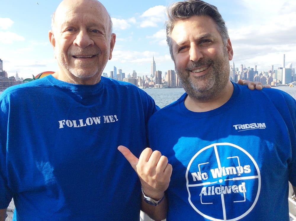 #NormCelebratesInc5000 Norm Brodsky & Lewis Schiff